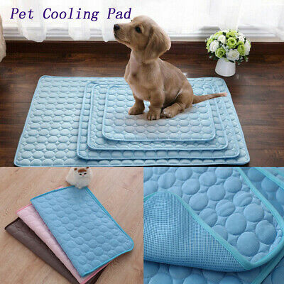 Pet Cooling Mat Non-Toxic Cooling Pad Pet Bed For Summer Dog Cat Puppy S/M/L