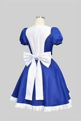 Alice Madness Returns Princess Dress Maid Dress Made Cosplay Costume HALLOWEEN