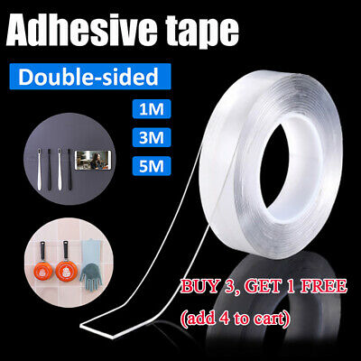 Multi-Function Nano Magic Tape Double-Sided Gel Traceless Transparent Reusable