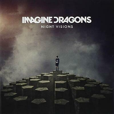 Imagine Dragons Cd - Night Visions (2012) - New Unopened - Pop Rock - Interscope