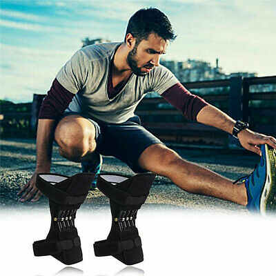 Single Knee Stabilizer Pads Powerful Rebound Spring Force Support Knee Pa