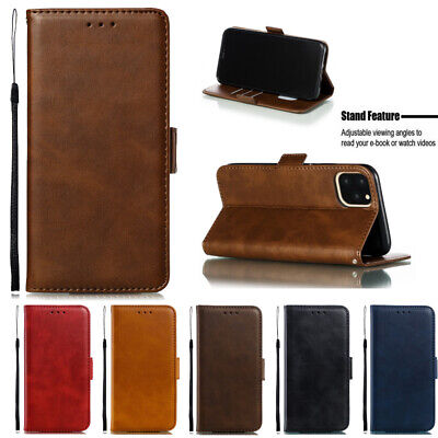 For iPhone 11 Pro Xs Max XR X 7 8 Plus Flip Leather Card Wallet Phone Case Cover