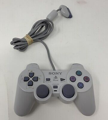 Official OEM Sony PlayStation 1 PSOne PS1 Grey SCPH-1200 Analog Controller