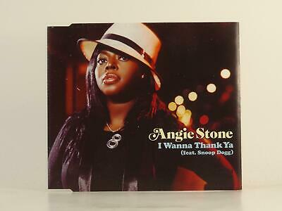 ANGIE STONE FT SNOOP DOGG, I WANNA THANK YA, EX/EX, 3 Track, CD Single, Picture