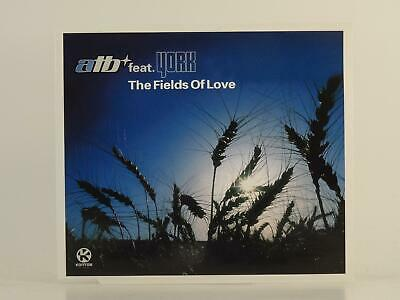 ATB FT YORK, THE FIELDS OF LOVE, EX/EX, 3 Track, CD Single, Picture Sleeve, KONT
