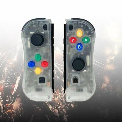 Joy-Con Game Controllers Gamepad Joypad for Nintendo Switch Console Transparent