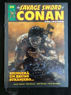 THE SAVAGE SWORD OF CONAN COLLECTION n 39 BLISTERATO NUOVO