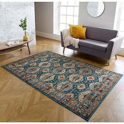 Traditional Vintage Style Area Rug Distressed Faded Design Mats Hall Runners Rug