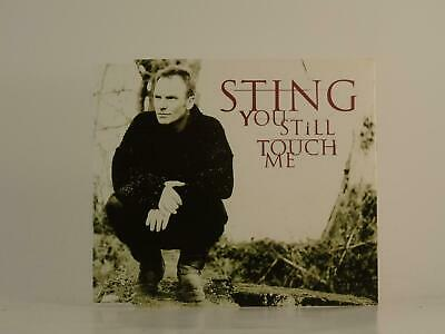 STING, YOU STILL TOUCH ME CD 2, EX/VG, 3 Track, CD Single, Picture Sleeve, A&M