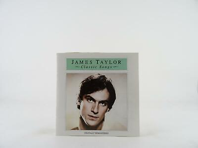 JAMES TAYLOR, CLASSIC SONGS, 345, VG/VG, 16 Track, CD Album, Picture Sleeve, CBS