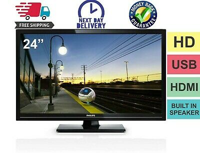 PHILIPS 26 INCH flat screen TV & LG VCR + remotes, manuals