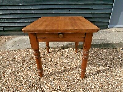 LOVELY 19th CENTURY PINE FARMHOUSE STYLE DINING KITCHEN TABLE WE CAN DELIVER