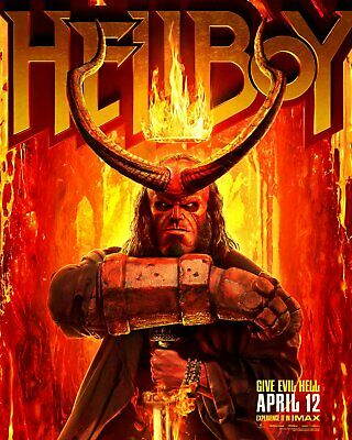 Hellboy(2019) BLU-RAY ONLY!!! FAST SHIPPING!!!