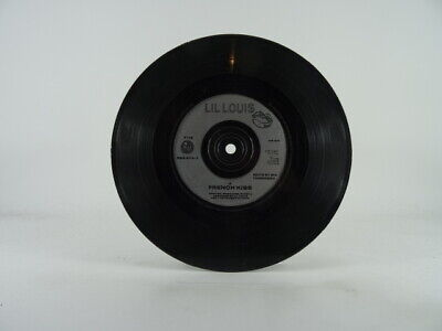 """LIL LOUIS, FRENCH KISS, 9, -/G, 2 Track, 7"""" Single, Plain Paper Sleeve, FFRR, F1"""