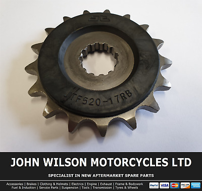 Yamaha TDM 850 H 1994 JT Front Rubber Cushioned Sprocket 17 Teeth