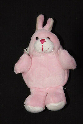 Pink Bunny Coin Purse For A Little Princess Super Soft,Cute&Squeezy New (S222)