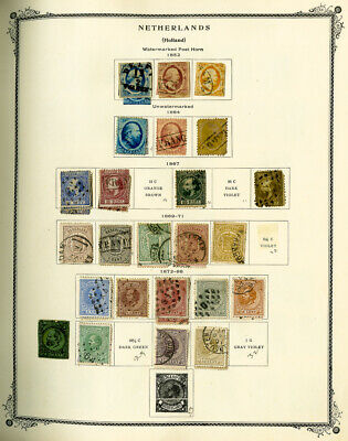 Netherlands & Colonies 1800s to 1990 Huge Clean Stamp Collection +1,000 Stamps