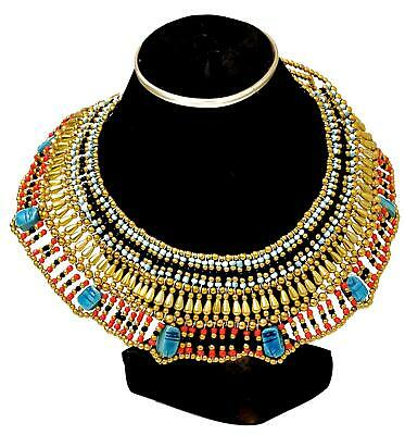 Ancient Egyptian Collar Necklace Cleopatra Costume Accessories Halloween Gift