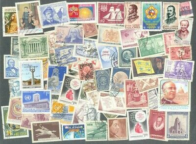 Guatemala   100 all different stamps collection