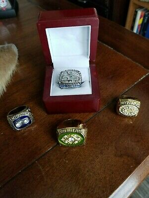 Replica superbowl rings, New York jets, miami dolphins, seahawks,  packers
