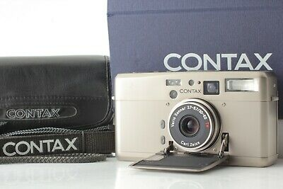 【 Top Mint in Box w/ case, strap 】 CONTAX TVS III Point & Shoot from Japan #0386