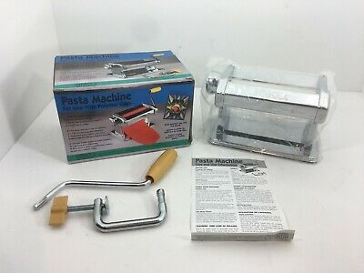 Amaco Pasta Machine for Polymer Clays and Soft Metal Sheets NIB