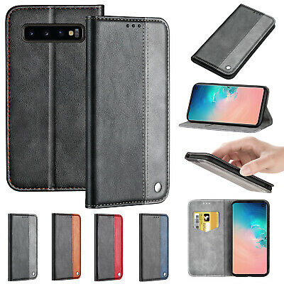 For Samsung Galaxy A50 A10 A70 40 A20 Case Magnetic Leather Card Slot Slim Cover