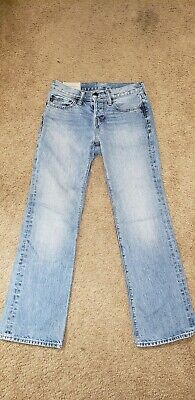 Mens/Boys Abercrombie and Fitch Jeans, Light Blue Jean 28/30 Great Condition.