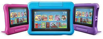 New Amazon Fire 7 Kids Edition Tablet 16GB ,7 Inch Display Latest 2019 Model !!