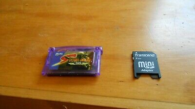 MINI SD SUPERCARD Flash Card Adapter Cartridge For GBA/SP