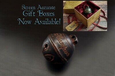 Krampus Bell - Cursed Jingle Bell Replica w/ Optional Gift Box - Made from Metal
