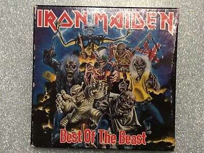 Iron Maiden Best of the Beast .... 2 CD with book