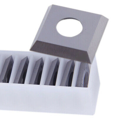 10Pcs Square Carbide Cutter Inserts 4-Edge 15 X 15 X 2.5mm For Wood Turning DIY
