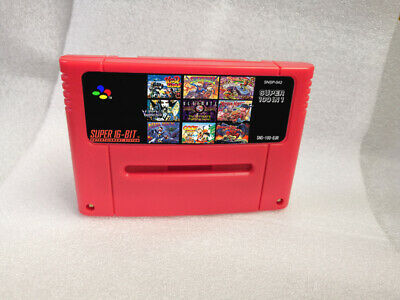 Super 100 in 1 Super Nintendo SNES Multi Cart Game Cartridge Eur PAL English