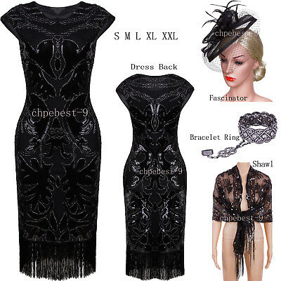Vintage Style Gatsby 1920s Dresses Flapper Costumes Evening Gowns 50s Style Prom