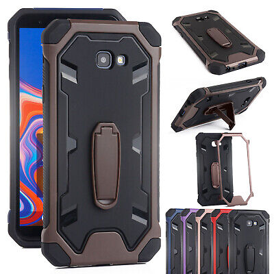 For Galaxy S9 Case Note 8 S8 Plus Heavy Duty Hybrid Armor Stand Anti-Shock Cover