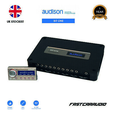 Audison Bit One Signal Interface Processor with DRC Remote Control