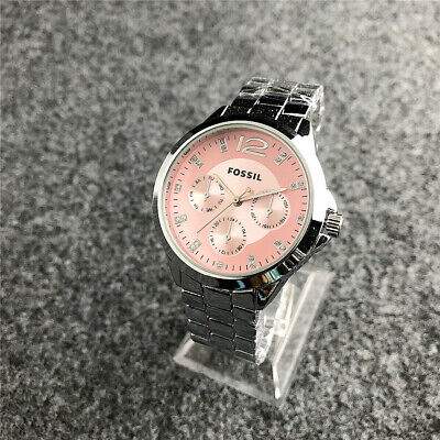 New Fashion Women's Design Watch Stainless steel Fossiles Crystal Wristwatch