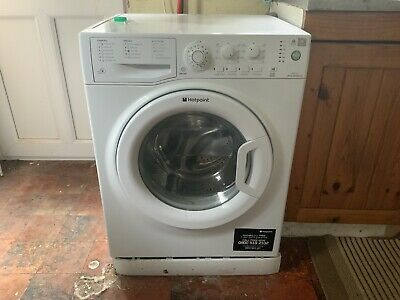 HOTPOINT WASHING MACHINE 7kg 1400 Faulty F06 Code Repair Or Spares