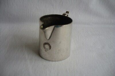 Small Silver ( alpha ) Plated H.E.& H. Jug / Measure.