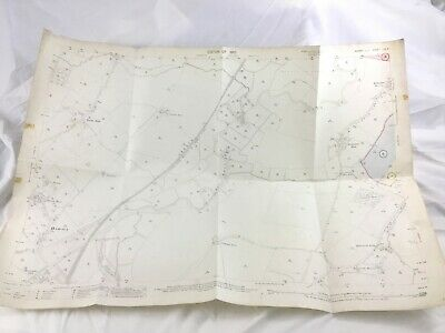 1910 Antique Map of East Sussex Hamsey North End Wellington Brewery Lewes