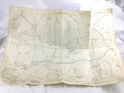 1910 Antique Map of Kent Cowden Village Sevenoaks District Old Original