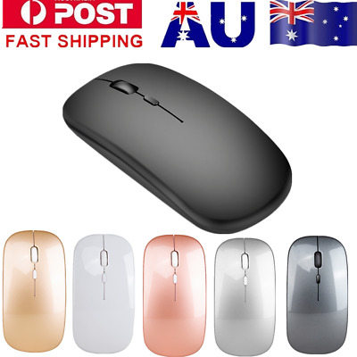 2.4Ghz USB Wireless Optical Mouse For Macbook Air Pro Win/Mac PC Laptop Computer