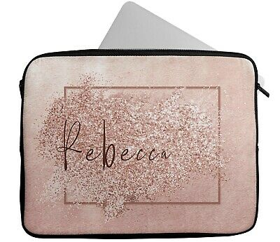 PERSONALISED ANY NAME Laptop Case Sleeve Tablet Bag