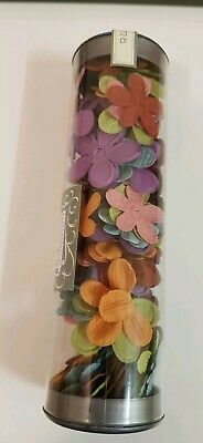 Prima Press N Petals Flowers contains 123+ item #515430 pink purple brown blue
