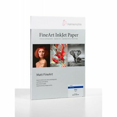 Hahnemuhle Photo Rag 308 Digital Inkjet Paper 308gsm 25 Sheets A2
