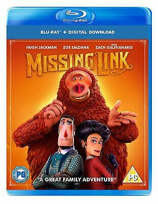 Missing Link [Blu-ray] [2019] Directors Chris Butler PE-ORDER Rel-5 Aug 2019 New
