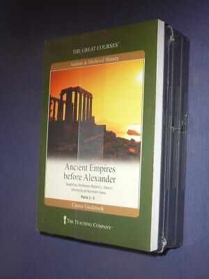 Teaching Co Great Courses DVDs :       ANCIENT EMPIRES BEFORE ALEXANDER      new