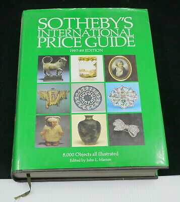Sotheby's International Price Guide, 1987-88 Edition, Hc, Dj, Photos