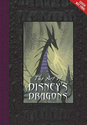 Disney Editions Deluxe: The Art of Disney's Dragons by Tom Bancroft (2016,...